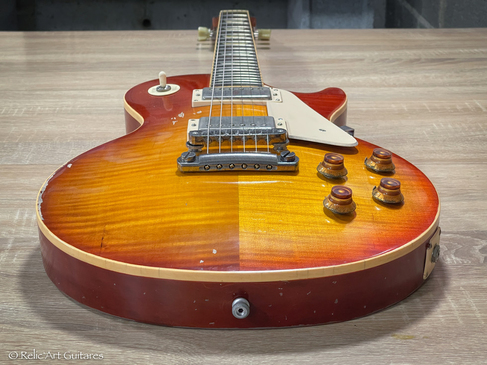 Gibson Les Paul refin Pearly Gates relic