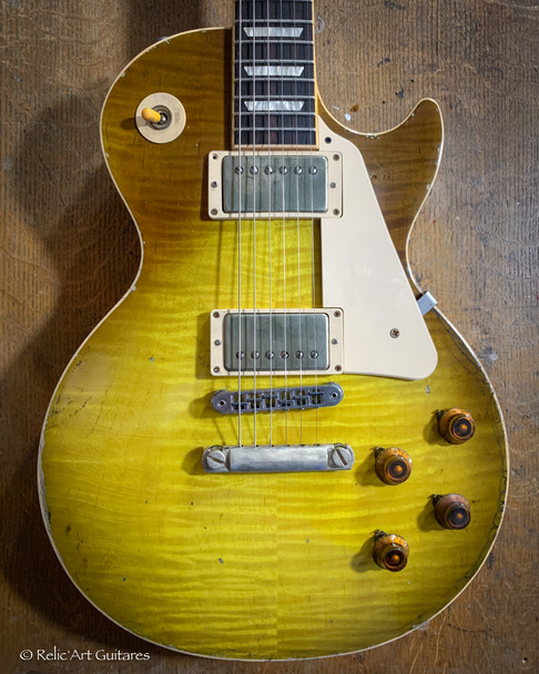 354 Faded Lemon Burst