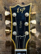 ESP Eclipse refin deep black relic