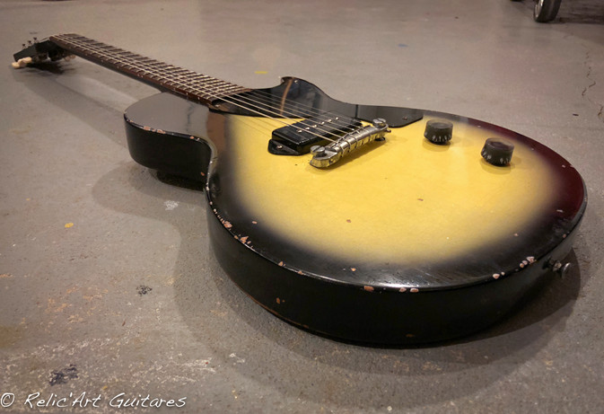 Gibson Les Paul Junior Sunburst relic