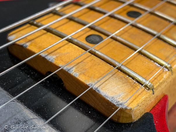 Fender Telecaster RI 52 Red Sparkle relic