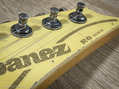 Ibanez RG serie refin Vintage White relic