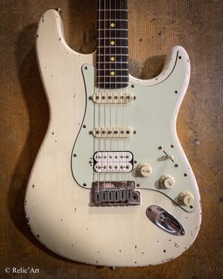 Fender stratocaster refin vintage White relic
