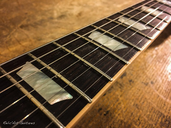 Gibson Les Paul honey burst relic
