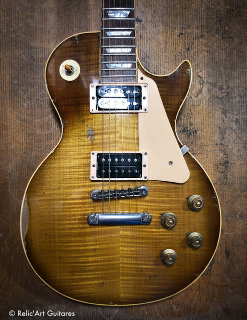 N°274 R'A LP Iced Tea Burst