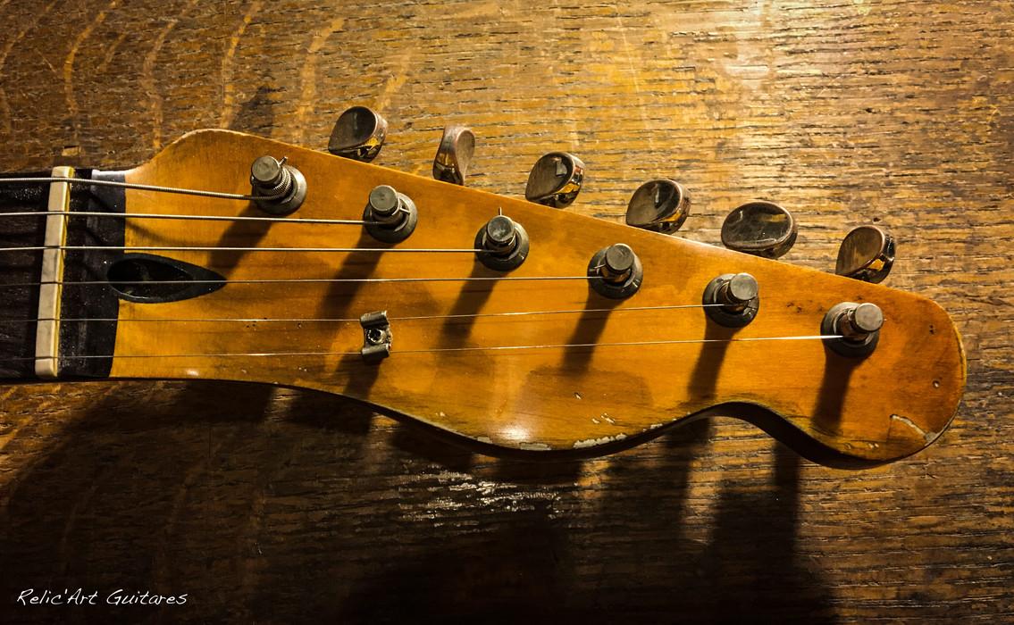 guitar tele rick parfitt replica relic olympic white