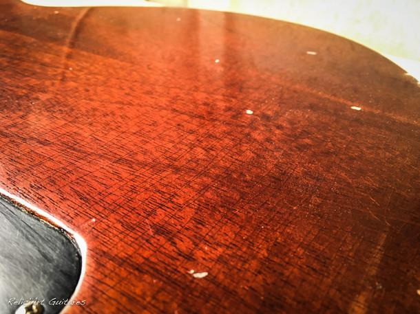 Gibson Les Paul Junior Sunburst relic