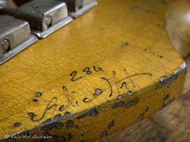Fender stratocaster refin surf green rel