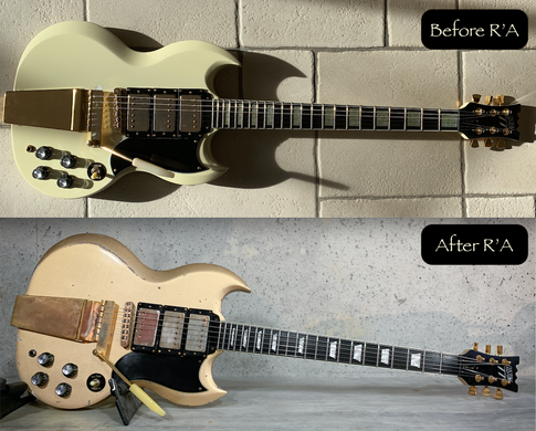 Custom 77 Refin GoldTop relic