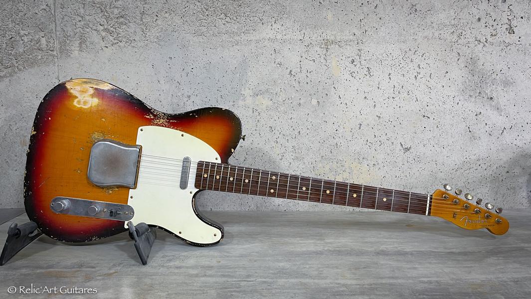 Relic'Art 439 Fender telecaster RI 59 su