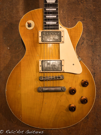 Tokai les paul honey burst relic