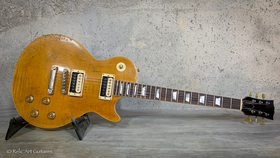 R'A LP refin Appetite Amber aged relic