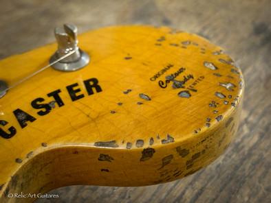 Fender stratocaster US refin Vintage Whi