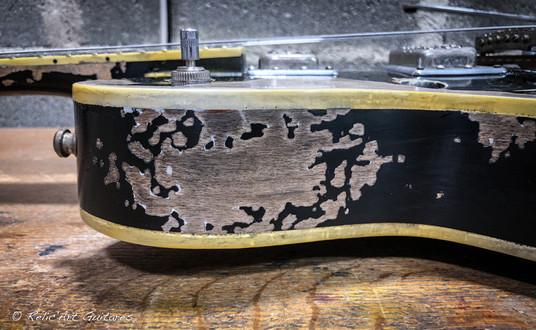 Gretsch Electromatic deep black relic-15
