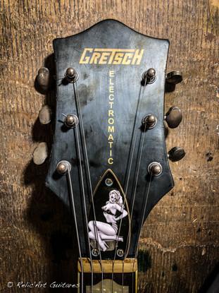 Gretsch Electromatic deep black relic-24