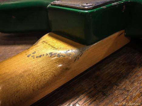 Fender Jazzmaster sherwood green relic