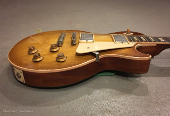 Gibson Les Paul iced tea burst relic