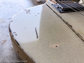 Gibson Firebird polaris white relic