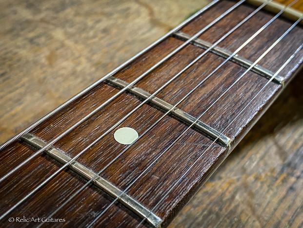 Fender American Telecaster refin Sherwood green over Black relic