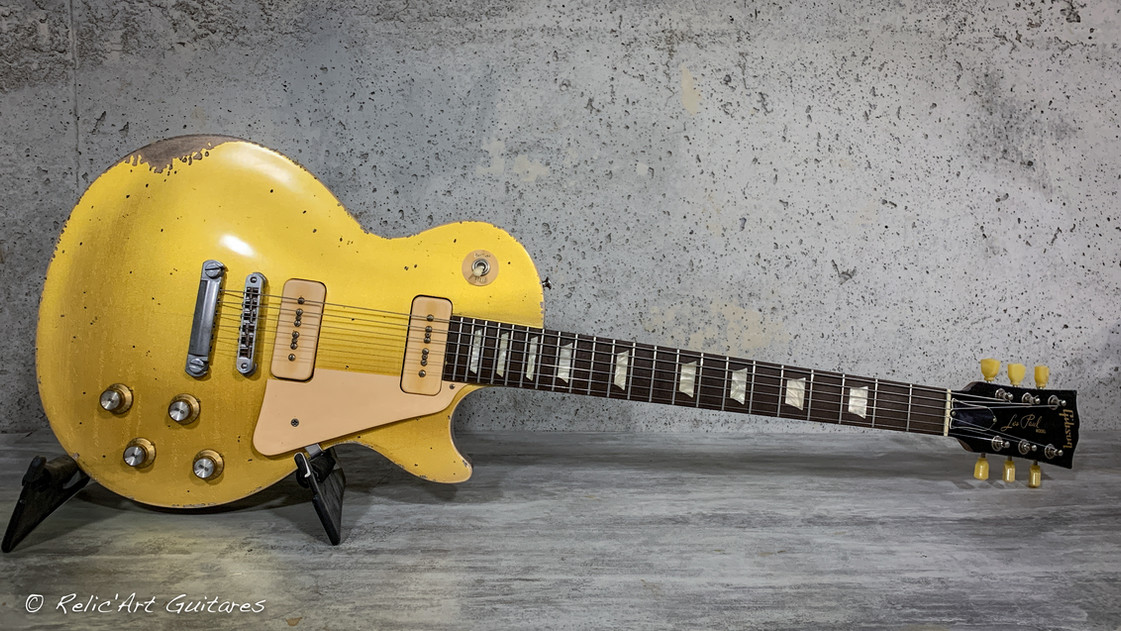Gibson Les paul Gold Top relic.jpg