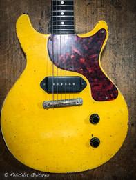Frank Barrull LP TV Yellow relic