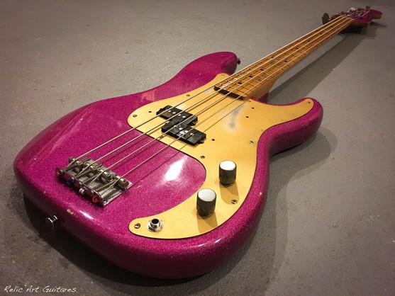 bass purple sparkle relic