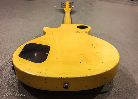 Gibson Les Paul Junior tv yellow relic