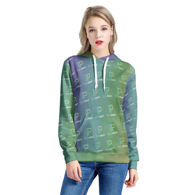 Women's All Over Print Hoodie