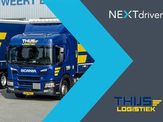 Thijs Logistiek en NEXTdriver slaan handen ineen
