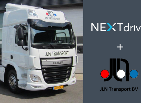 JLN Transport start met NEXTdriver