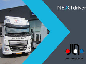 JLN Transport start onboarding NEXTdriver