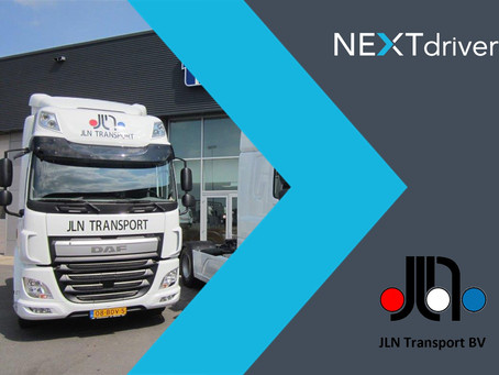 JLN Transport start onboarding NEXTdriver