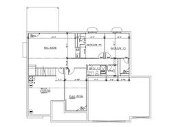 Pine Creek Basement Plan