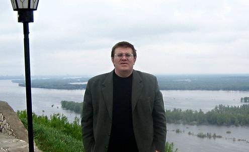 На набережній Волги. Самара. 2005 рік.