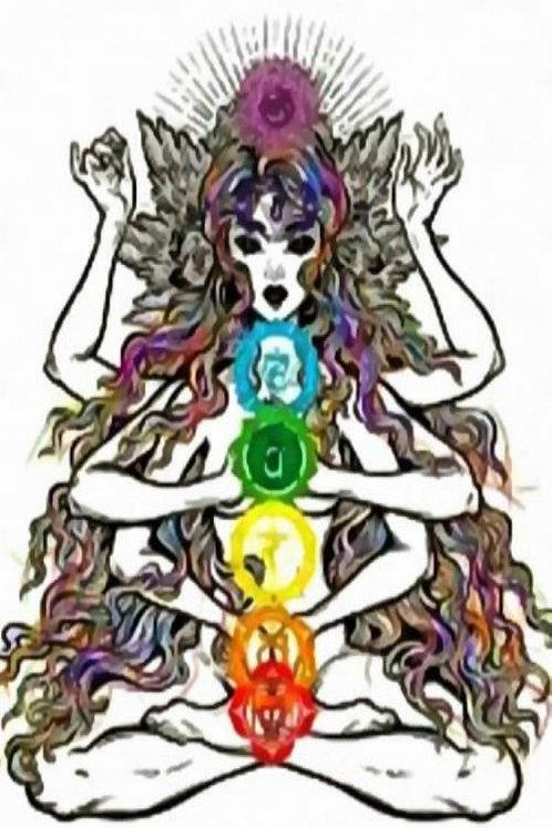 Медитация ПУТЕШЕСТВИЕ ПО ЧАКРАМ