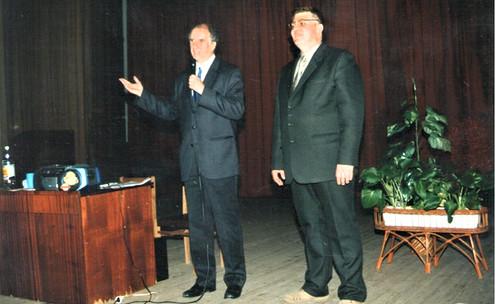 Разом з учителем Анджеєм Вуйцікевичем ведемо один із перших тренінгів Методу Сільви в Одесі.