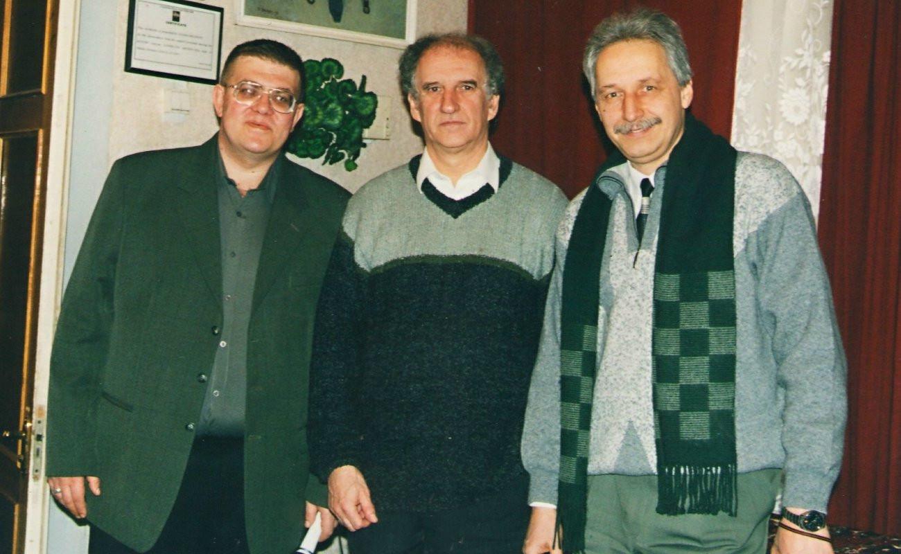 Костя Маслюков, Анджей Вуйцікевич... ну і я.