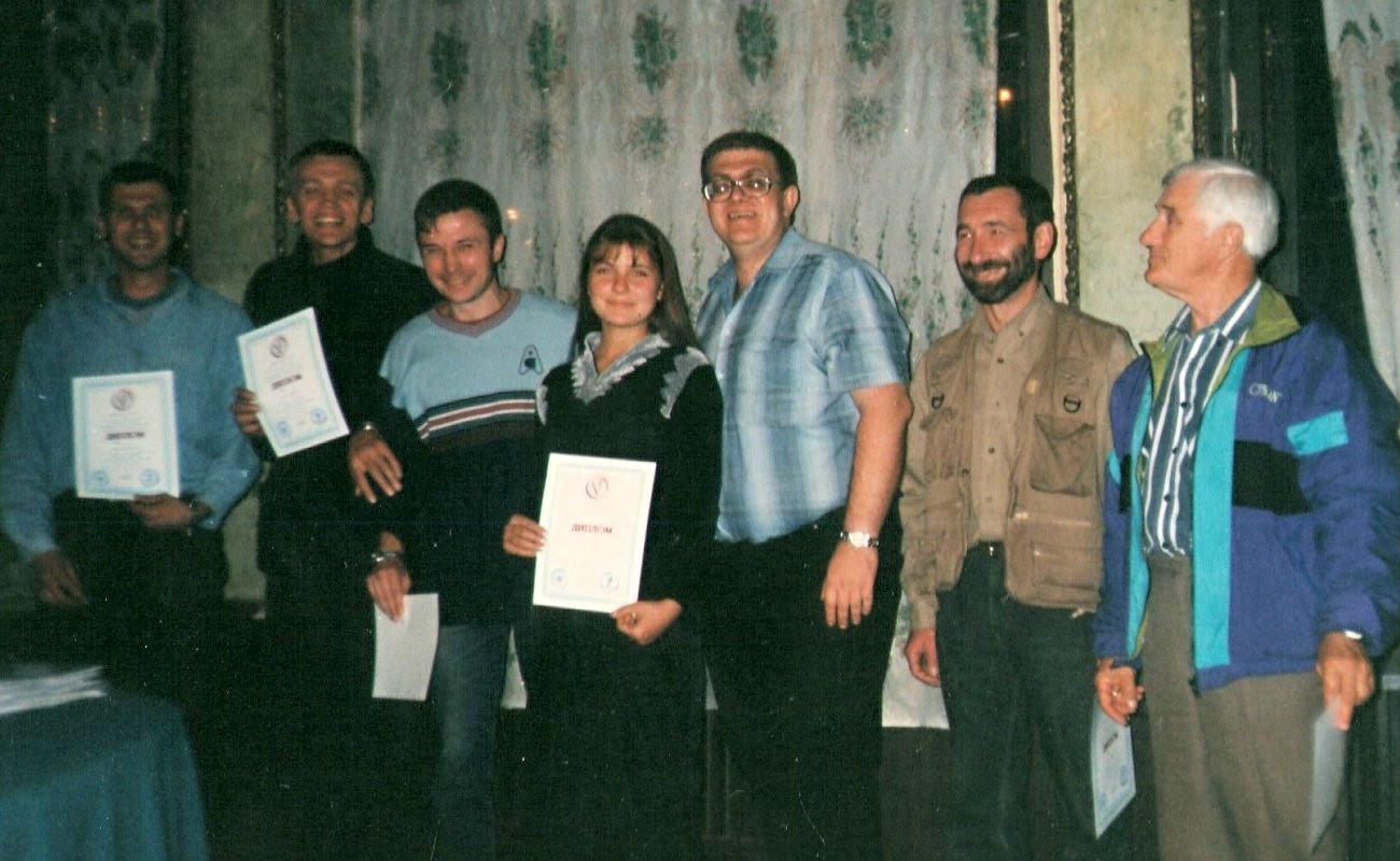 Чи не найважчий тренінг в моїй кар'єрі. Харків. 2002 рік.