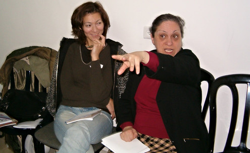 Південний темперамент: ну що з ним зробиш? Ізраїль. Тель-Авів. 2004 рік.