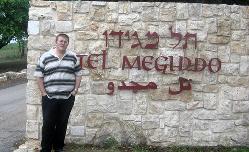 Тель Мегіддо - долина Армагедону. Давно мріяв побувати тут. 2005 рік.
