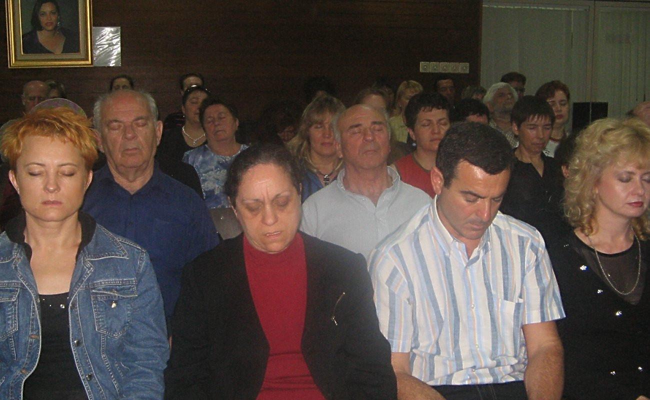Так медитують в Ізраїлі...