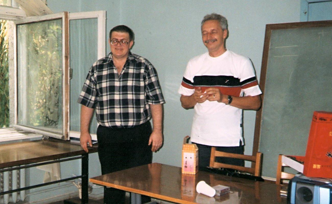 З Костянтином Маслюковим. Одеса. Оріон. 2003 рік.