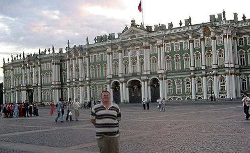Біла ніч. Санкт-Петербург. Червень 2004 рік.