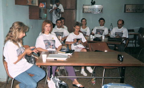 Другий тренінг інструкторів Методу Сільви і Україні. І перший мій власний... Одеса. Оріон. Серпень 2003.