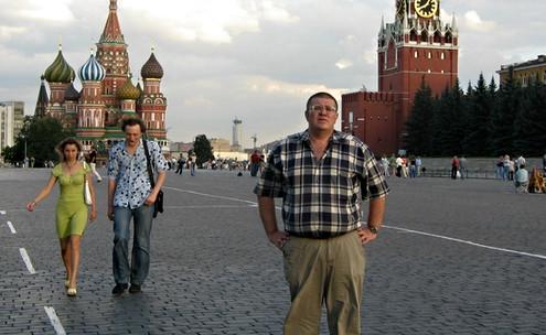 Москва. Літо 2004 рік.