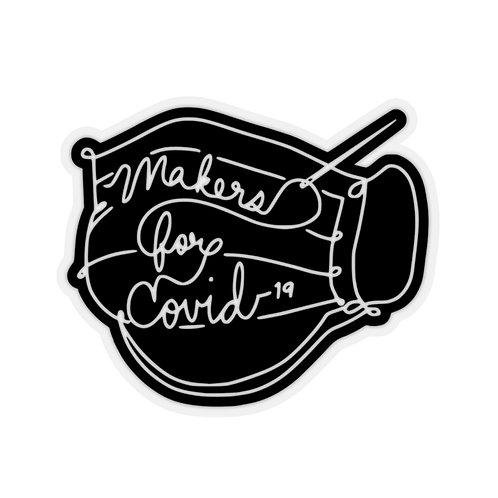 M4C-19 Mask Kiss-Cut Stickers
