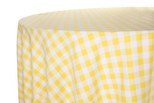 Picnic Check Yellow