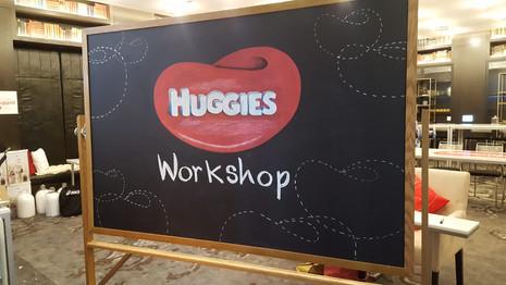 Workshop Chalkboard