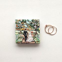 Wedding Magnet Portrait