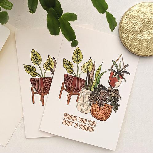 Golden Gals Card
